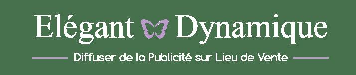 Elégant PLV Dynamique